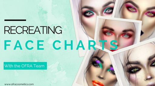 Recreating Face Charts with the OFRA Team