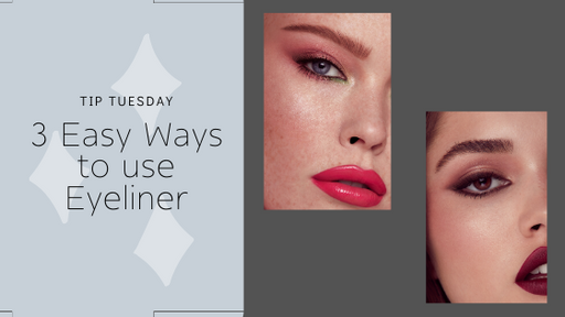 Tip Tuesday: 3 Easy Ways To Use Eye Liner