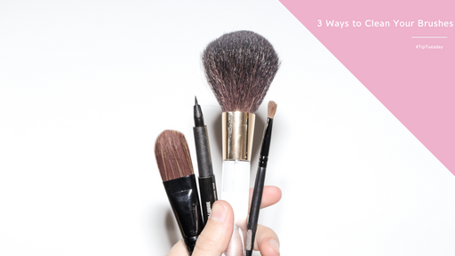 Tip Tuesday: 3 Ways to Clean Your Makeup Brushes