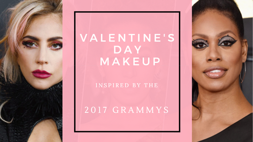 Valentine's Day Makeup Inspired by The Grammys