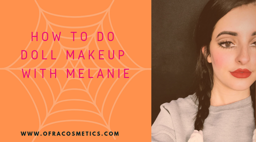 HOW TO DO DOLL MAKEUP WITH MELANIE