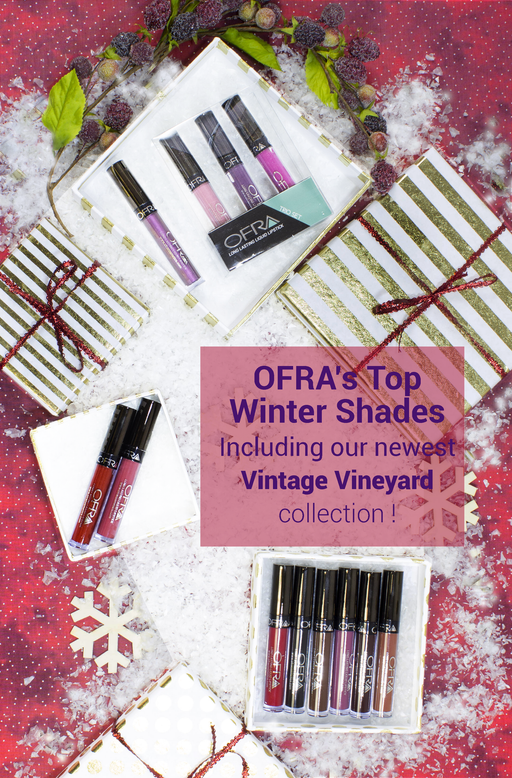 OFRA's Top Winter Shades
