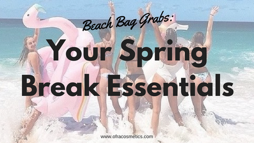 Beach Bag Grabs: Your Spring Break Essentials