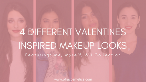 4 Valentines Inspired Makeup Looks