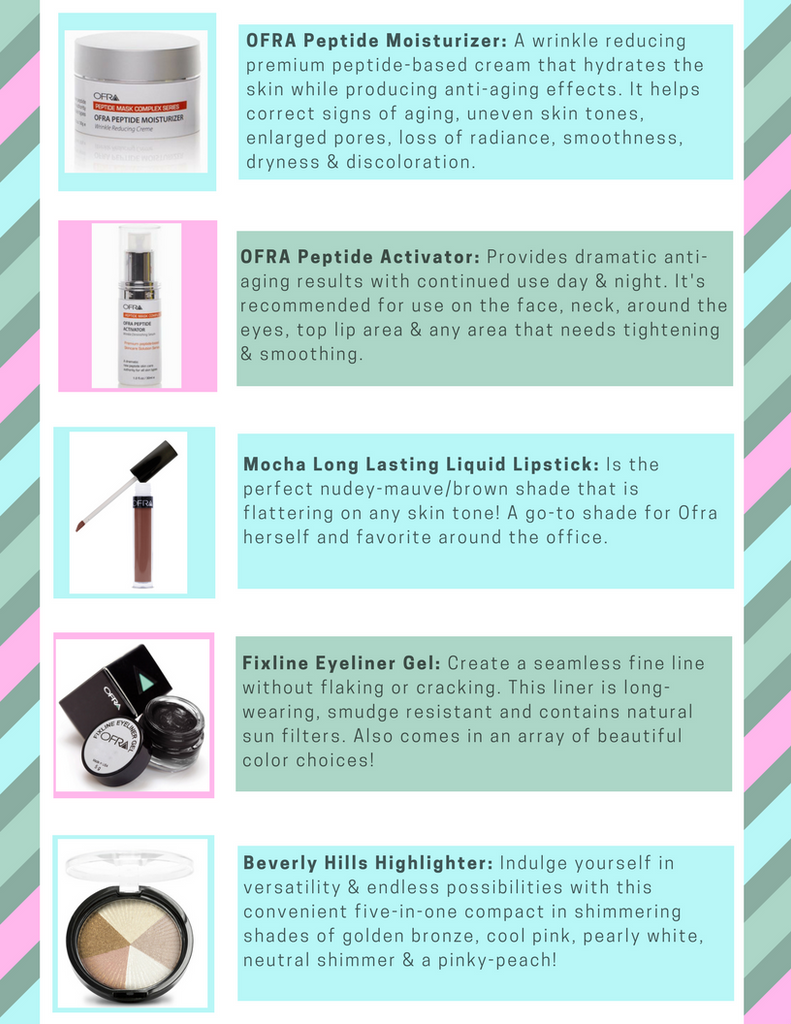 Ofra's Top Favorite Products! -Ofra Cosmetics