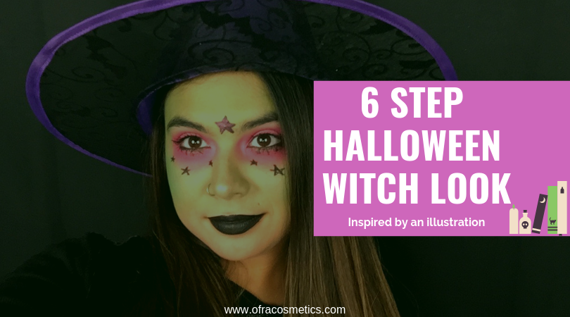 6 Step Halloween Witch Makeup Look Ofra Cosmetics