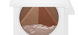 Default Title - mobile 3D Pyramid Egyptian Clay Bronzer in white compact slightly closed