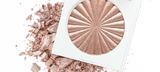 Default Title - mobile Blissful Highlighter compact on top of crushed highlighter