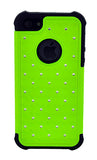 iPhone 5/5S Diamond Ballistic Case Green