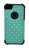 iPhone 4/4S Diamond Ballistic Case Teal
