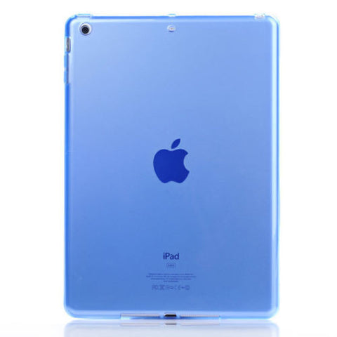 iPad Soft TPU Case Blue