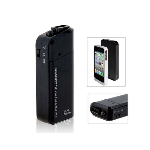 iPhone 4/4S/5/5S/5C/6 Emergency Charger
