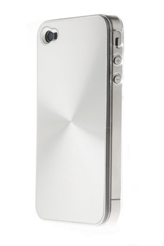 iPhone 4/4S Shiny Swirl Silver