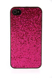 iPhone 4/4S Glitter Hot Pink