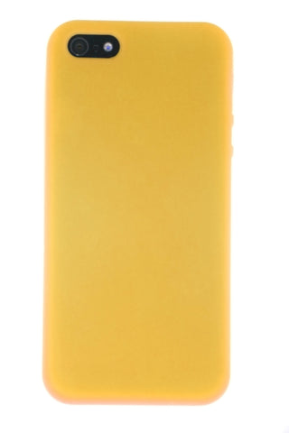 iPhone 5/5S Soft Glove Case Yellow