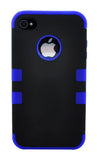iPhone 4/4S Defender Case Dark Blue Stripe