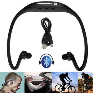 Sports Wireless Bluetooth Headset Black