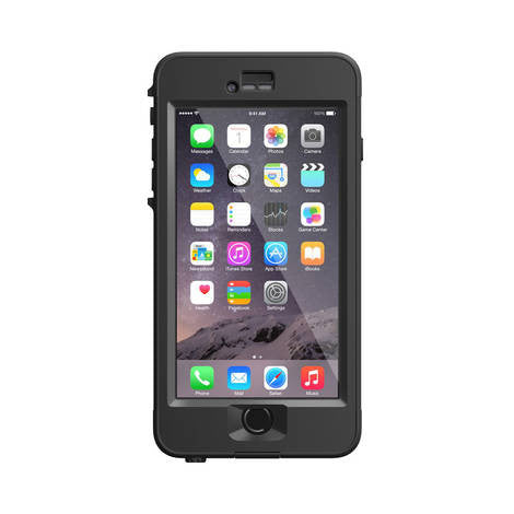 iPhone 6 Plus LifeProof Nuud Series Black