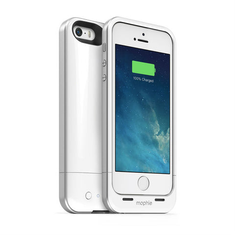 iPhone 5/5S Mophie Juice Pack Air Battery Case White