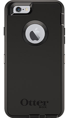iPhone 6/6S Otterbox Defender Black
