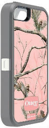 iPhone 5/5S OtterBox Defender Pink Realtree