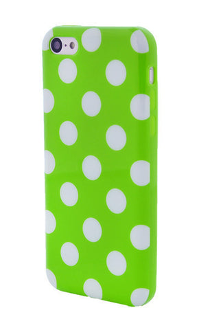 iPhone 6 Polka Dot Lime and Green