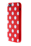 iPhone 6 Polka Dot Red and White