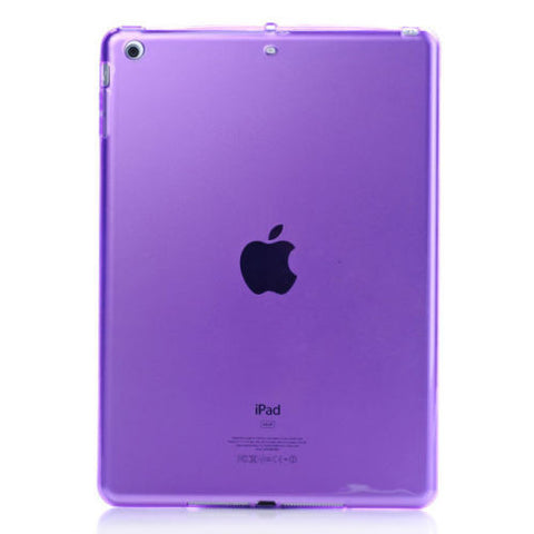 iPad Soft TPU Case Purple