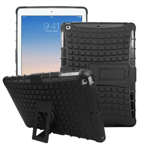 iPad Shock-Proof Heavy Duty Hard Case Black