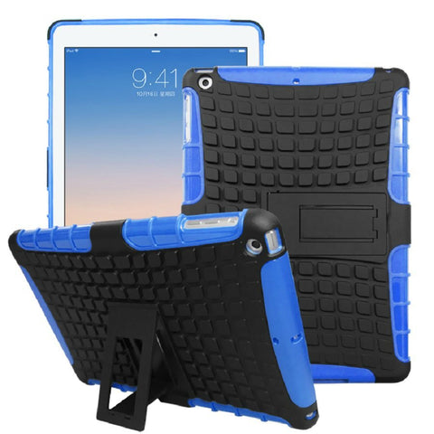 iPad Shock-Proof Heavy Duty Hard Case Blue