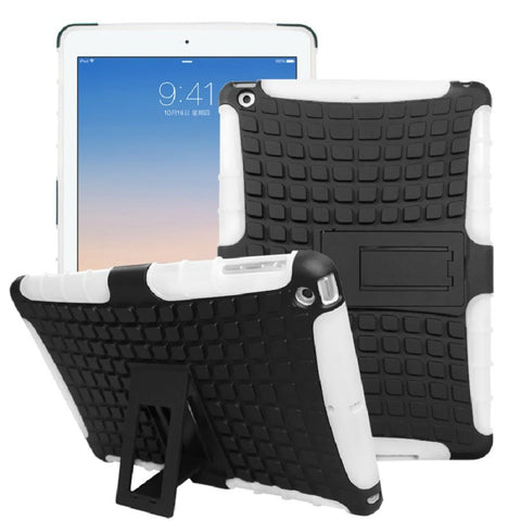 iPad Shock-Proof Heavy Duty Hard Case White