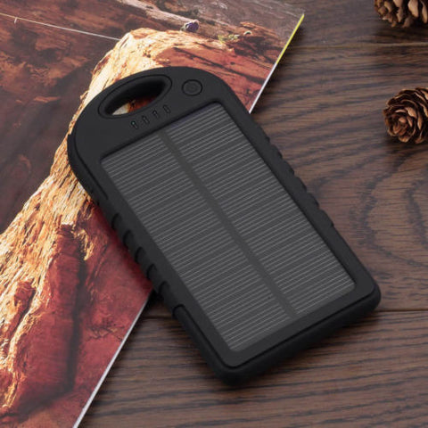 Smartphone Solar Charger Black