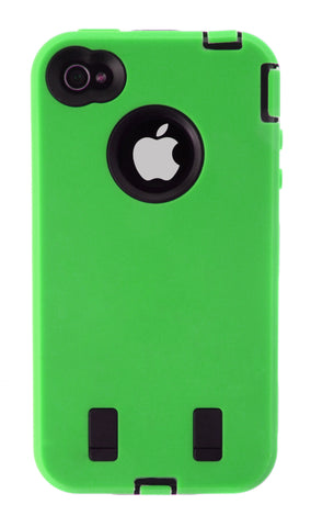 iPhone 5/5S Defender Case Green
