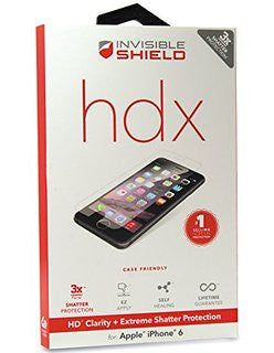 ZAGG Invisible Shield HDX Screen Protector FOR iPhone 6/6S