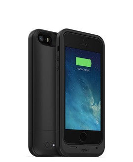 iPhone 5/5S Mophie Juice Pack Air Battery Case Black