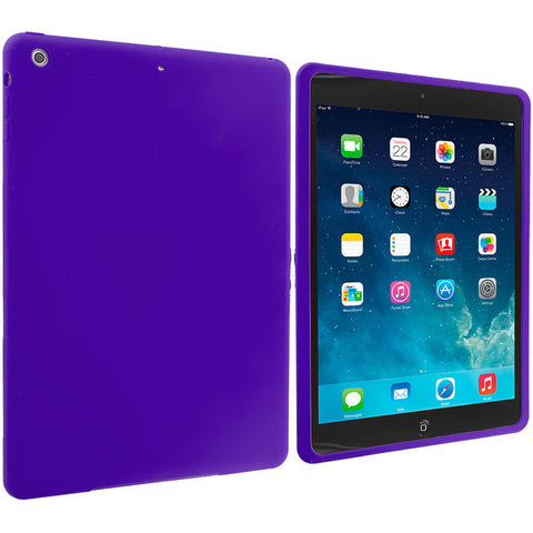 iPad Air Candy Crystal Soft Case Purple