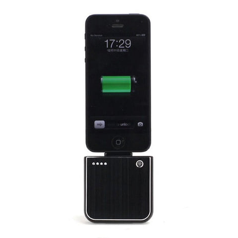 iPhone 5/5S/5C/6/6 Plus External Portable Battery Charger Black