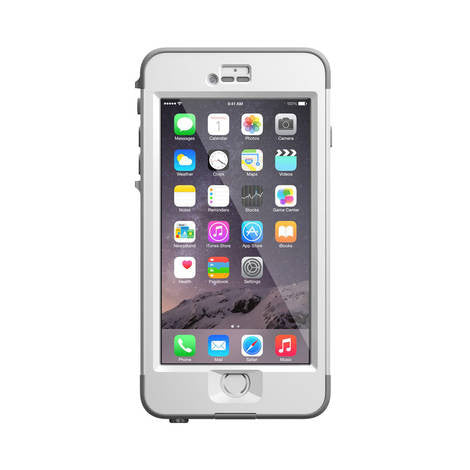 iPhone 6 Plus LifeProof Nuud Series White