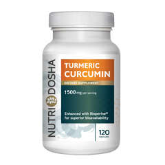 Nutridosha Turmeric Curcumin 1500 mg anti-inflammatory with Bioperine for maximum absorption