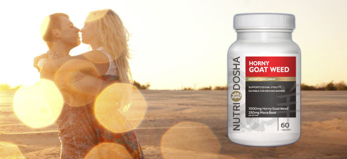 Spice Up Your Life with Nutridosha Horny Goat Weed with Maca Root Powder