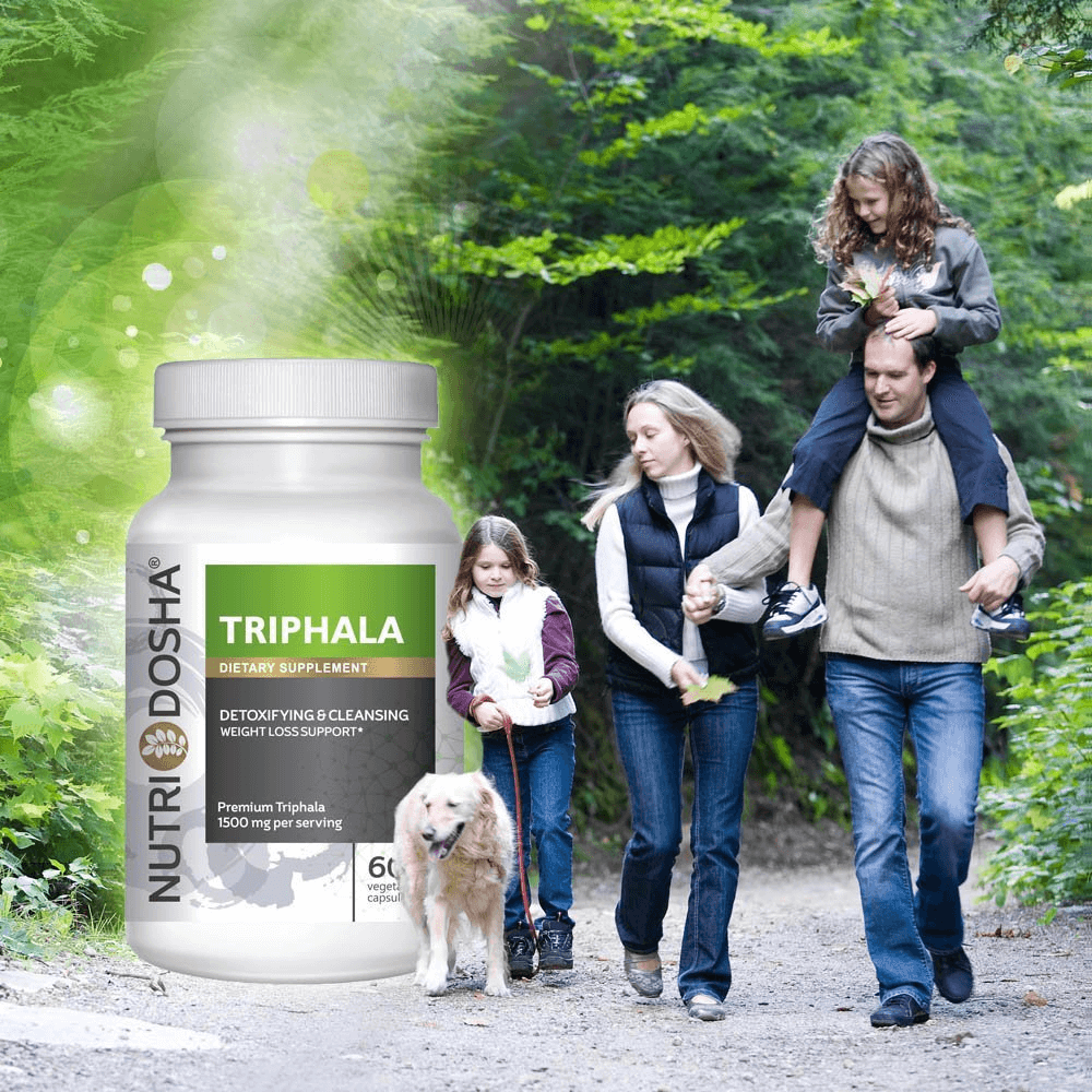 Nutridosha's Triphala is the best antioxidant Ayurveda formula for regularity plus digestive and immune support