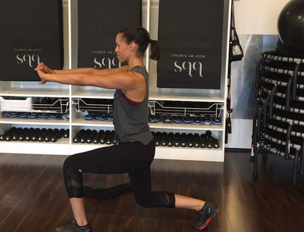 Nicole Humphries Holiday Workout Tips from Body By Simone