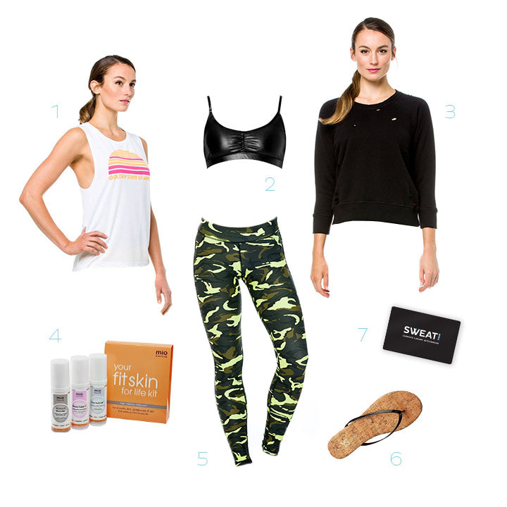 Sweat NSK Holiday Gift Guide for the Athleisure Fan