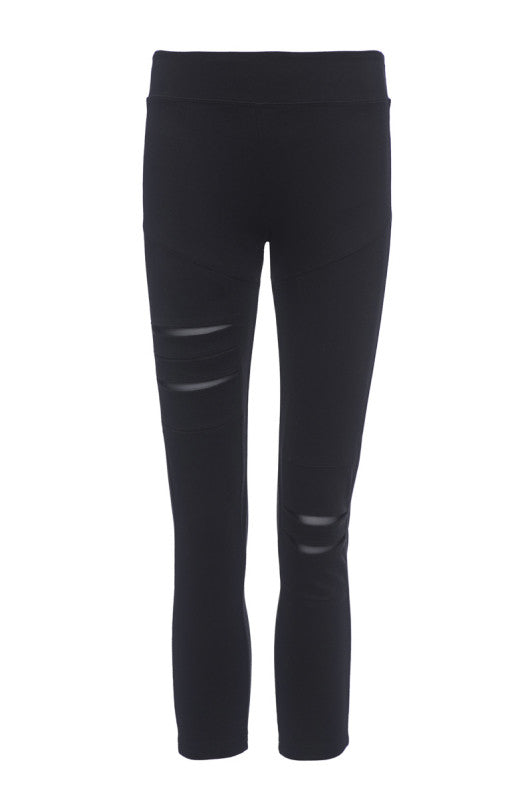 Nesh Crop Torn Legging