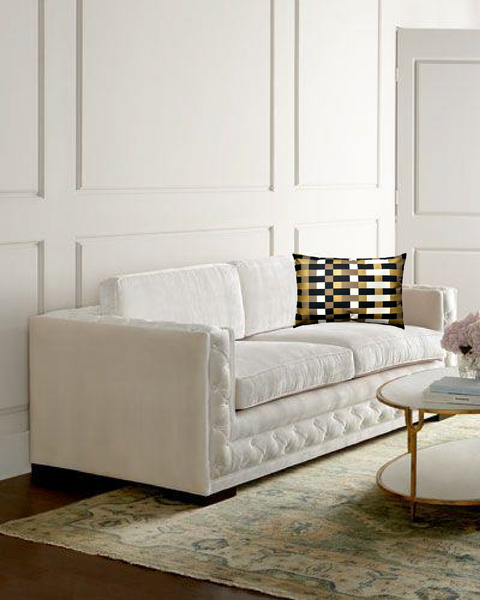 Bently Sofa by Horchow with Via San Vito Pillow
