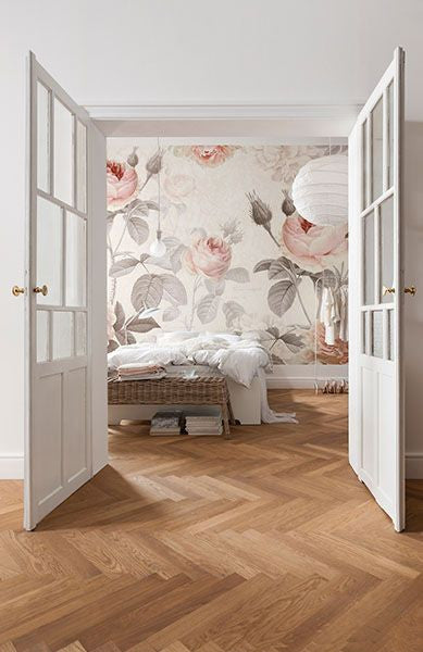 Big Floral Wallpaper - Brewster Home Fashions