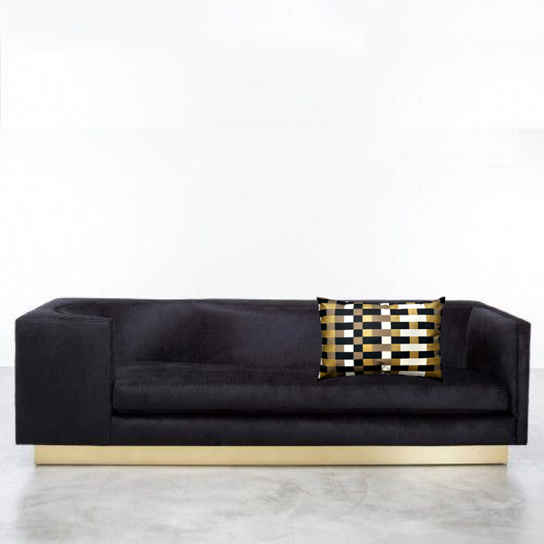Laurent Sofa by Shine by S.H.O. with Via San Vito Pillow
