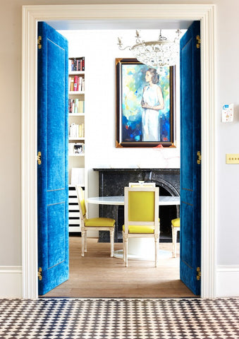Unexpected color combinations in interiors