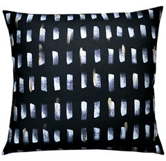 Pillow / BRUSHSTROKE / Noir