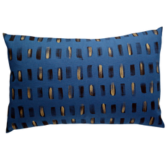 Lumbar / BRUSHSTROKE / Royal Blue